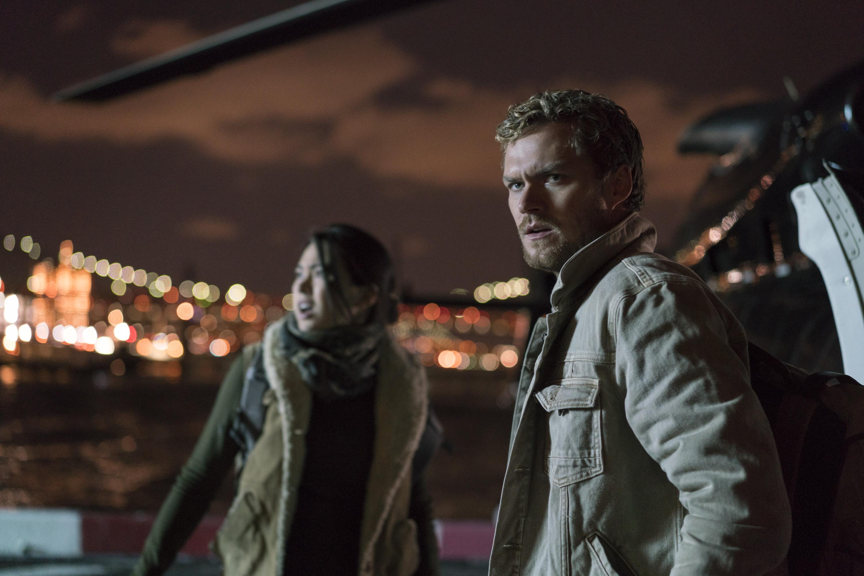 The Defenders: una scena con Finn Jones e Jessica Henwick