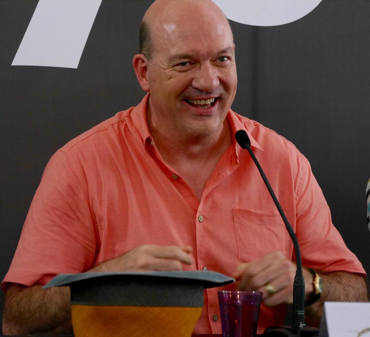 Lycky: John Carroll Lynch in conferenza a Locarno