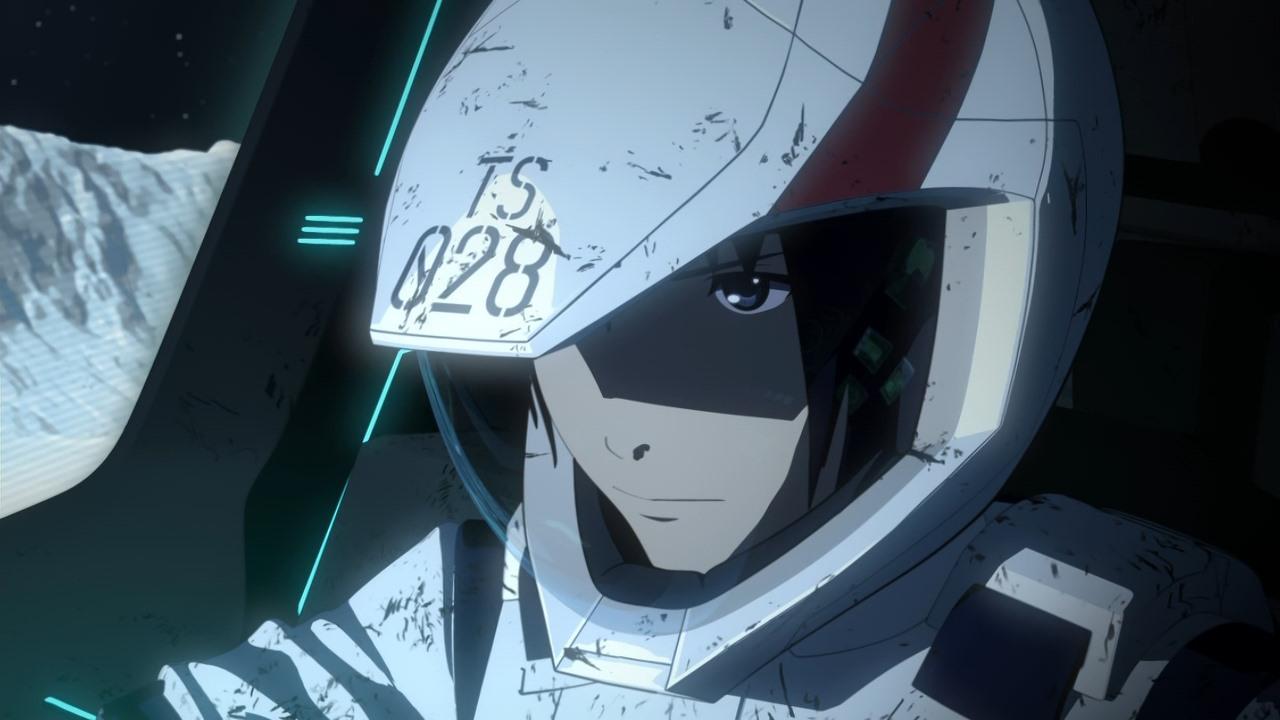 Knights of Sidonia: una scena dell'anime