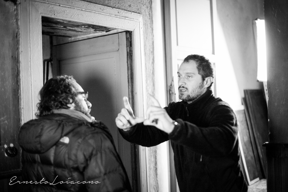 The Millionairs: Claudio Santamaria al alvoro sul set del suo corto