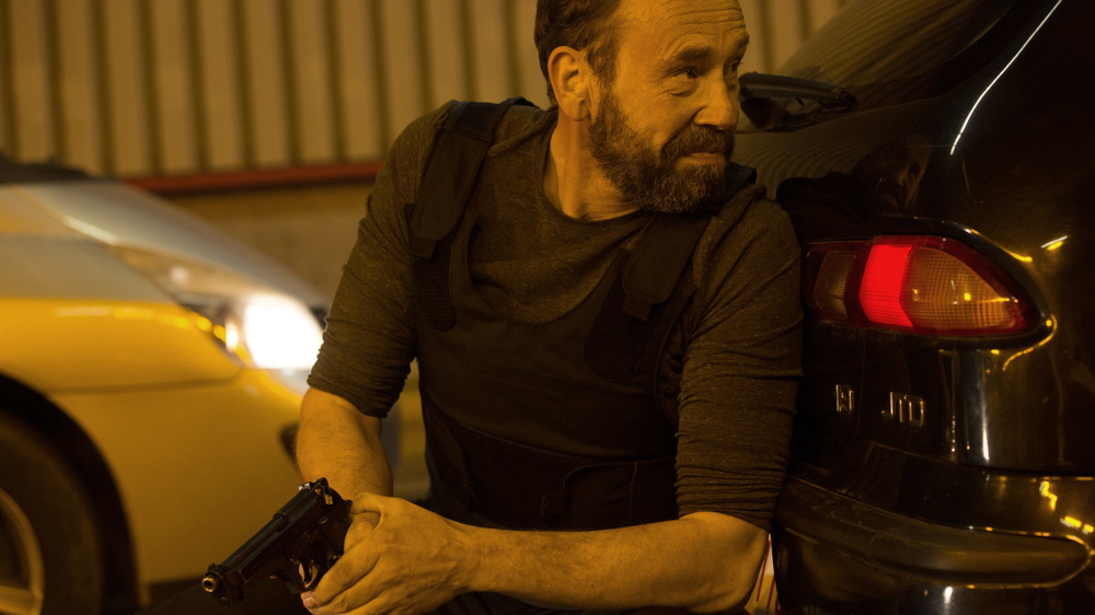 Tueurs: Oliver Gourmet in un momento del film