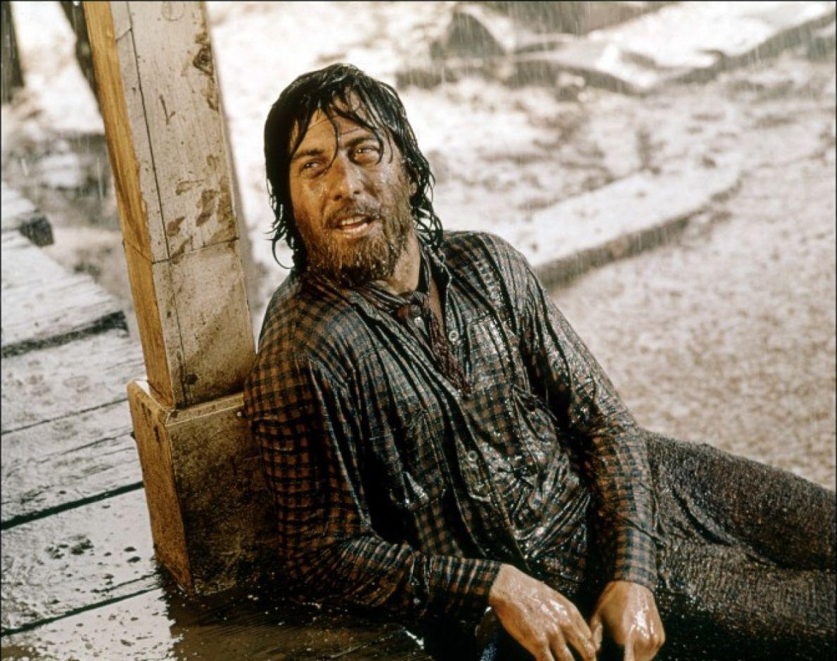 Piccolo grande uomo: Dustin Hoffman in una scena del film