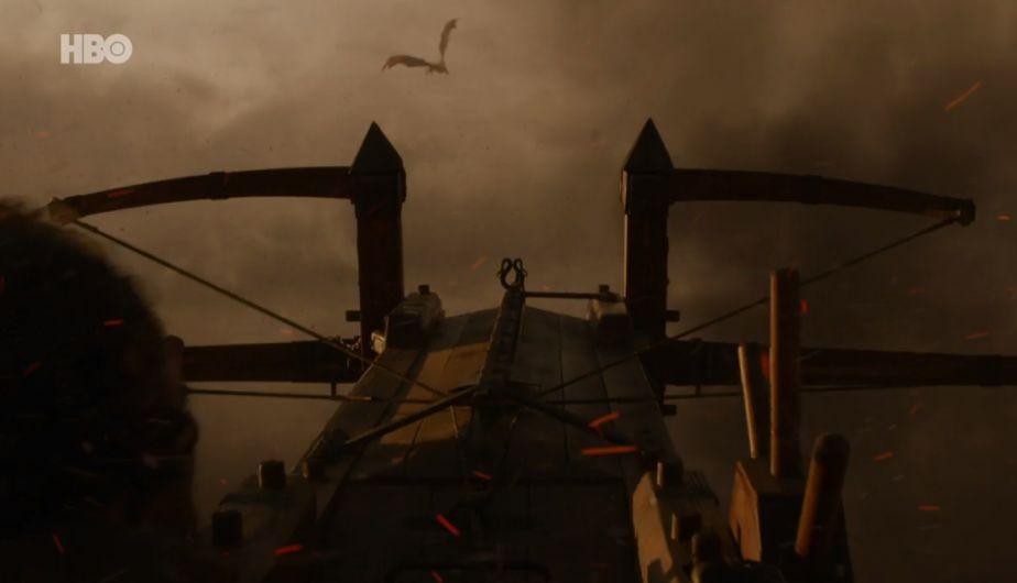 Il trono di spade: Bronn sta puntando Drogon in The Spoils of War