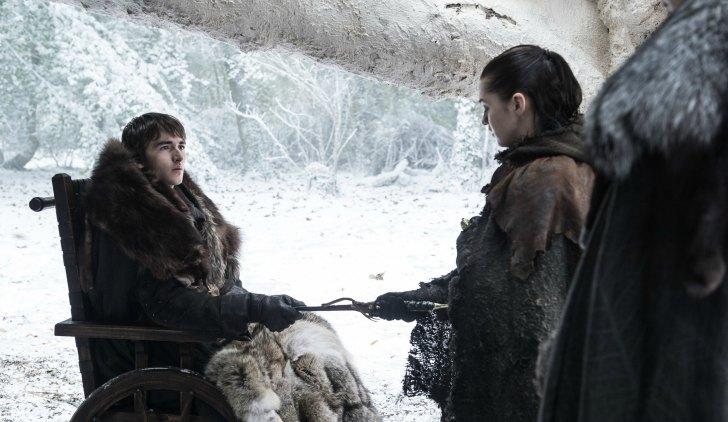 Il trono di spade: Bran e Arya in The Spoils of War