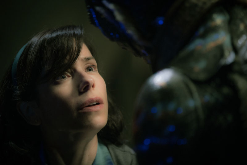 The Shape of Water: l'attrice Sally Hawkins in una foto del film