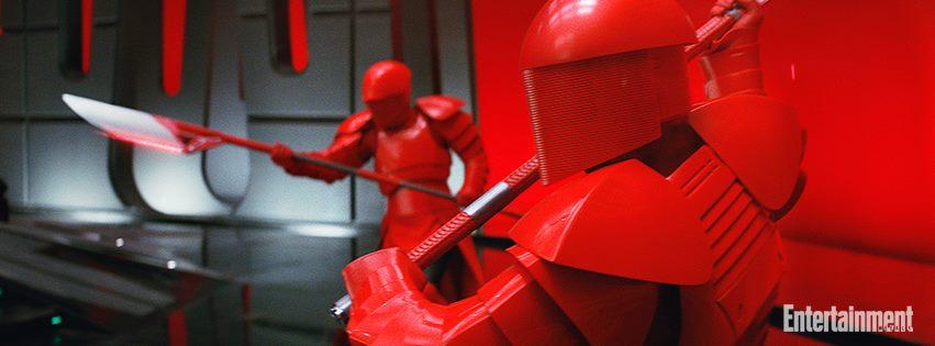 Star Wars: Gli ultimi Jedi, una foto tratta dal film