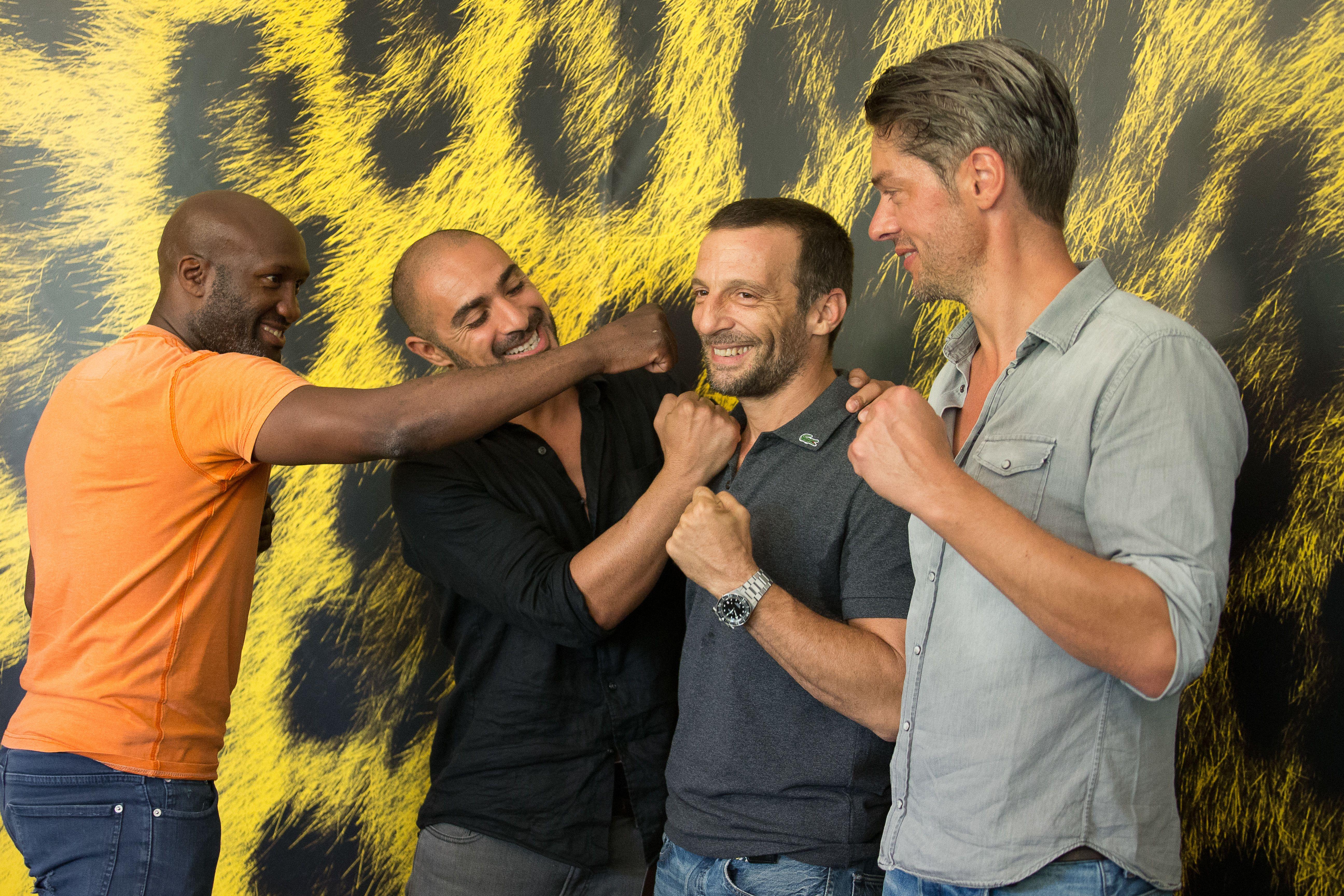 Sparring: Mathieu Kassovitz e il cast a Locarno 2017