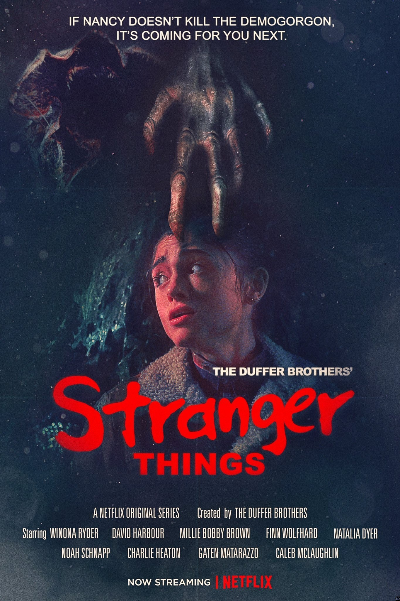 Stranger Things: un poster ispirato a Nightmare