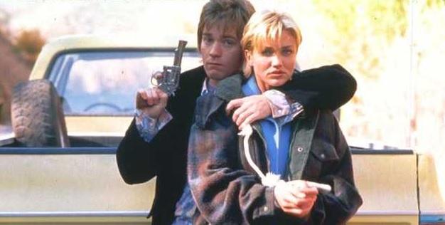 Ewan McGregor e Cameron Diaz in una scena di Una vita esagerata