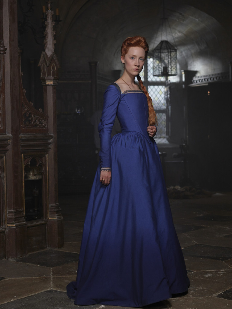Maria Regina di Scozia: Saoirse Ronan in una foto del film