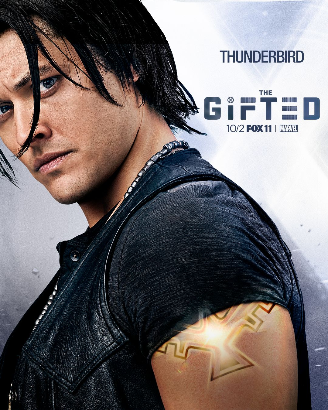 The Gifted: il character poster di Thunderbird