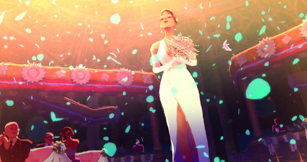 Gatta Cenerentola: un'immagine tratta dal film d'animazione