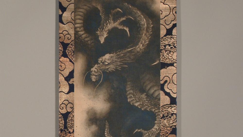 Hokusai dal British Museum: una scena del documentario