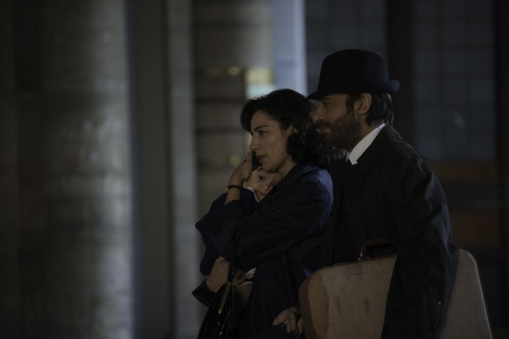 La musica del silenzio: Jordi Mollà e Luisa Ranieri in una scena del film