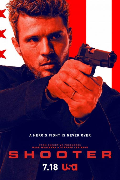 Shooter: la locandina della seconda stagione