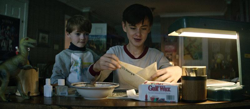 It: Jaeden Lieberher in una foto del film