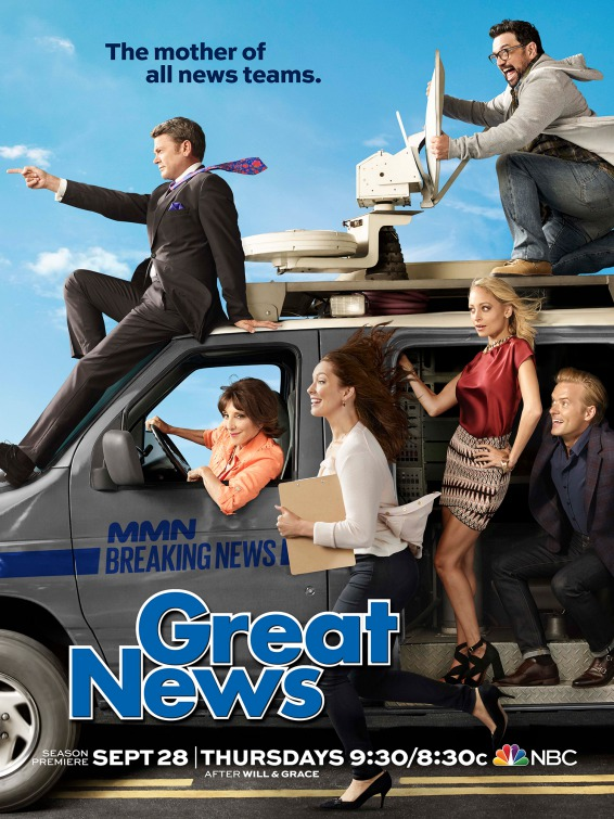 Great News: il poster della seconda stagione