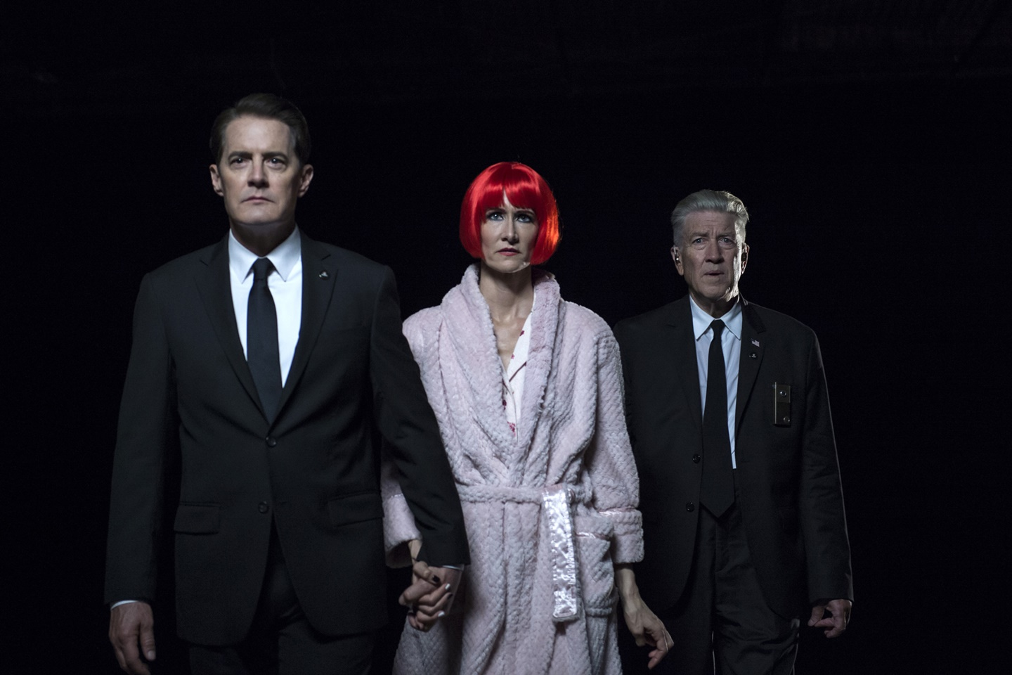 I segreti di Twin Peaks: Kyle McLachlan, Laura Dern e David Lynch