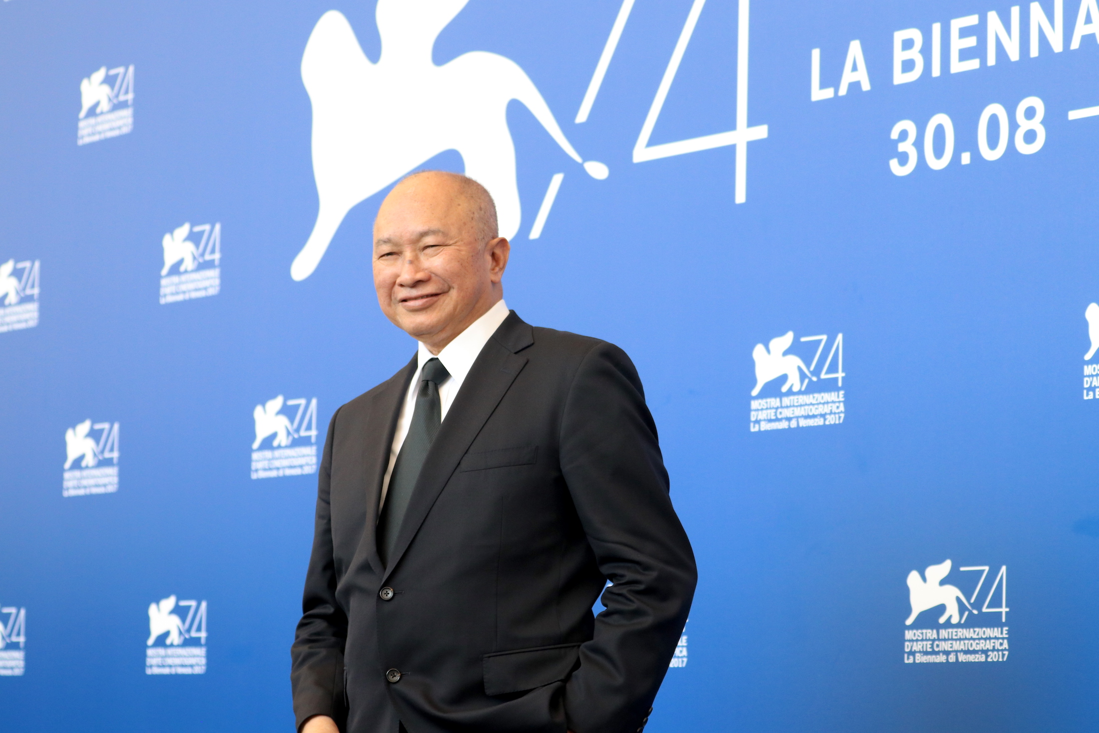 Venezia 2017: John Woo al photocall di Manhunt
