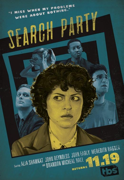 Search Party: il poster della seconda stagione