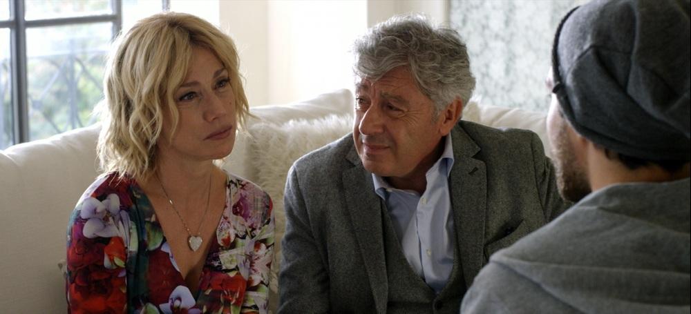 Tiro libero: Nancy Brilli e Antonio Catania in una scena del film