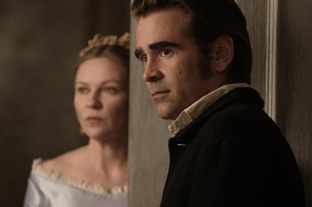 The Beguiled: Kirsten Dunst e Colin Farrell in una foto del film