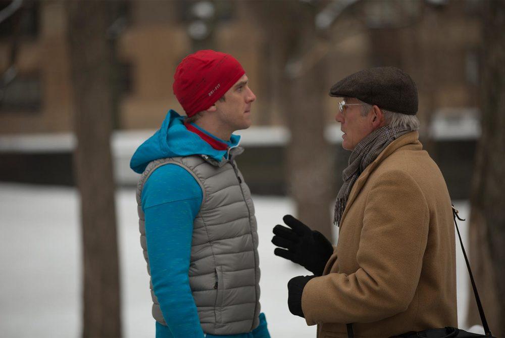 L'incredibile vita di Norman: Richard Gere e Dan Stevens in un momento del film