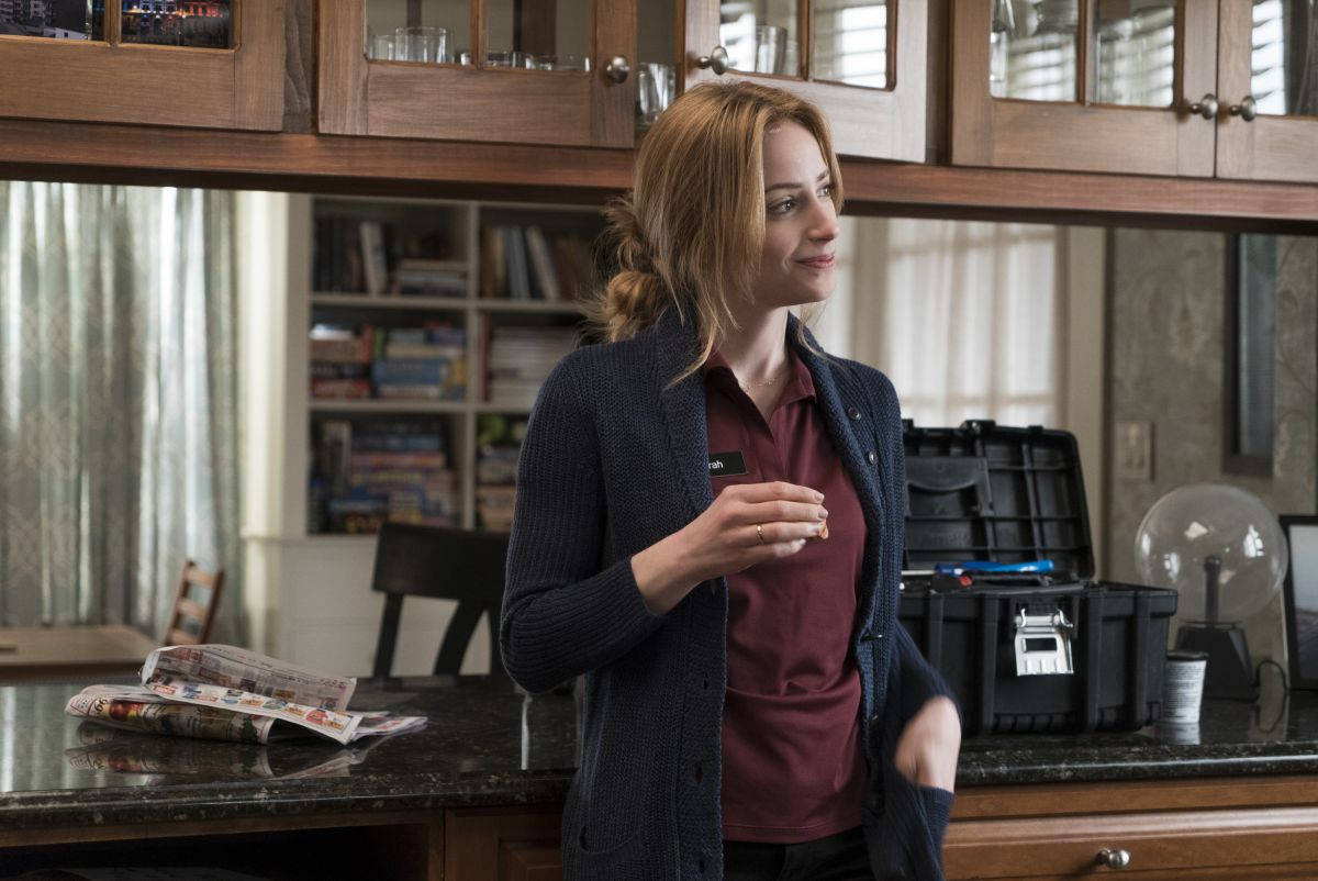 The Punisher: una foto dell'attrice Jaime Ray Newman