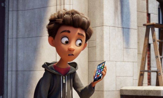 Emoji: Accendi le emozioni, un'immagine del film animato