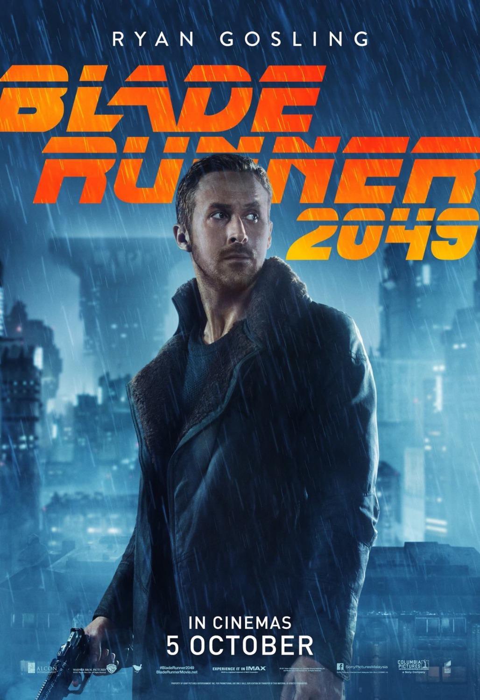 Blade Runner 2049: il character poster di Ryan Gosling