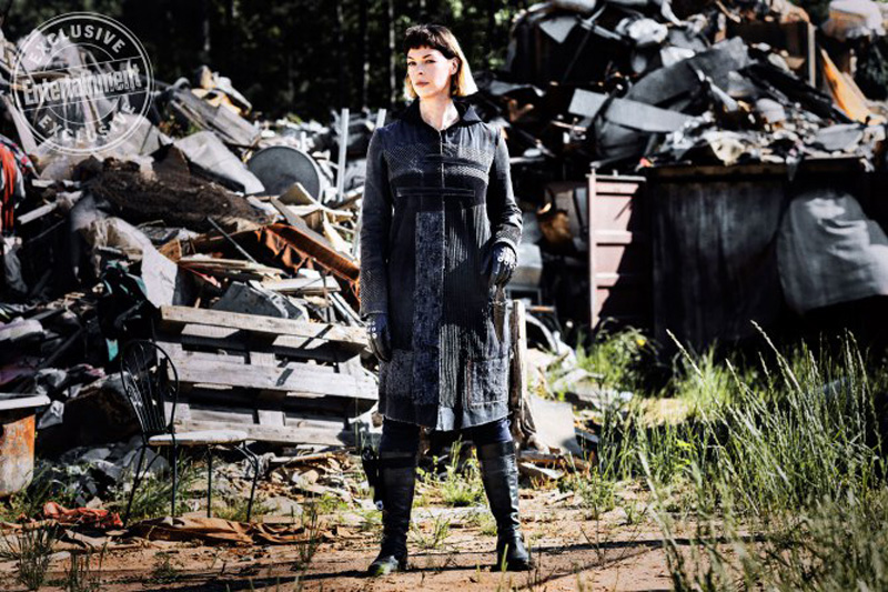 The Walking Dead: una foto di Pollyanna McIntosh
