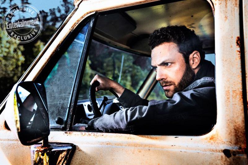 The Walking Dead: Ross Marquand in una foto dell'ottava stagione