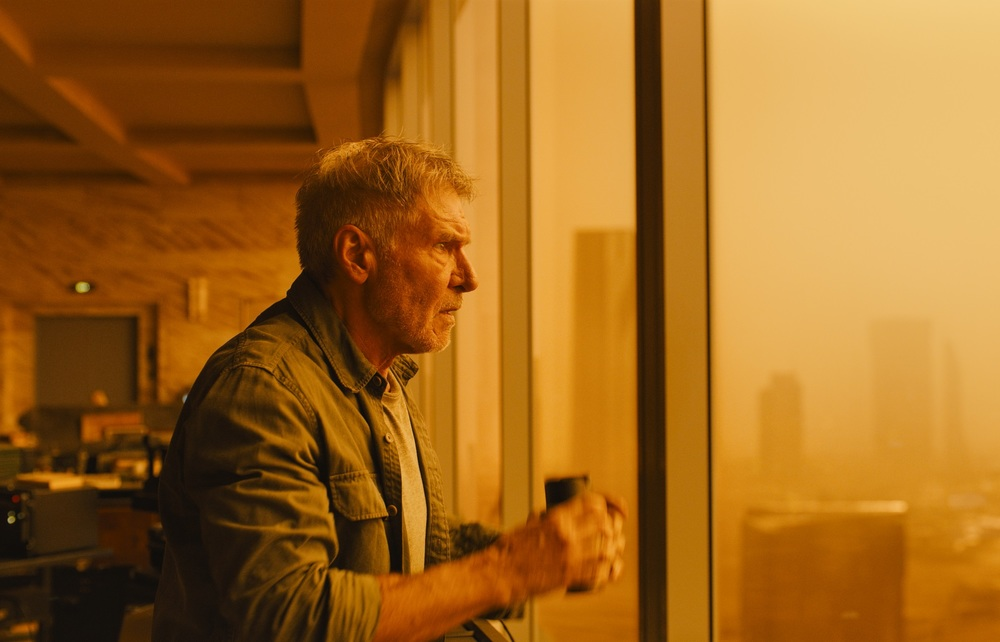 Blade Runner 2049: Harrison Ford in un momento del film