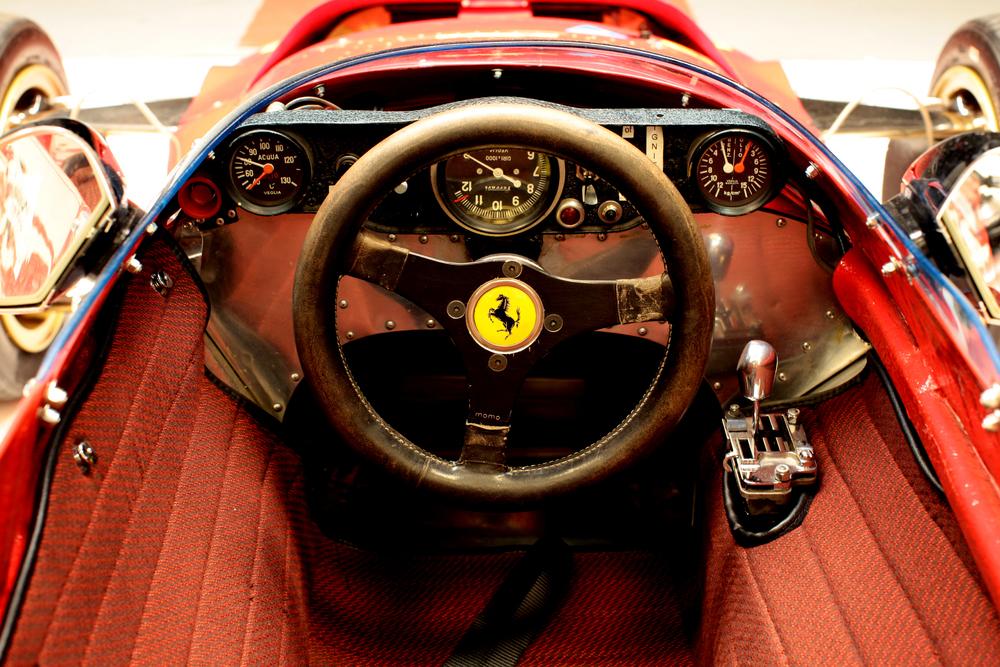 Ferrari 312B: un'immagine tratta dal documentario