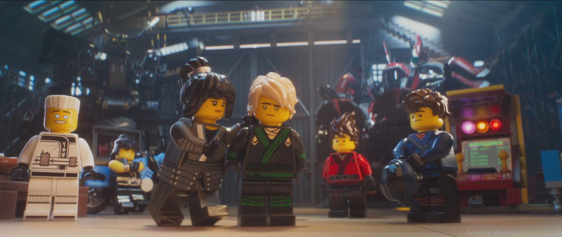 Lego ninjago il film un immagine del animato