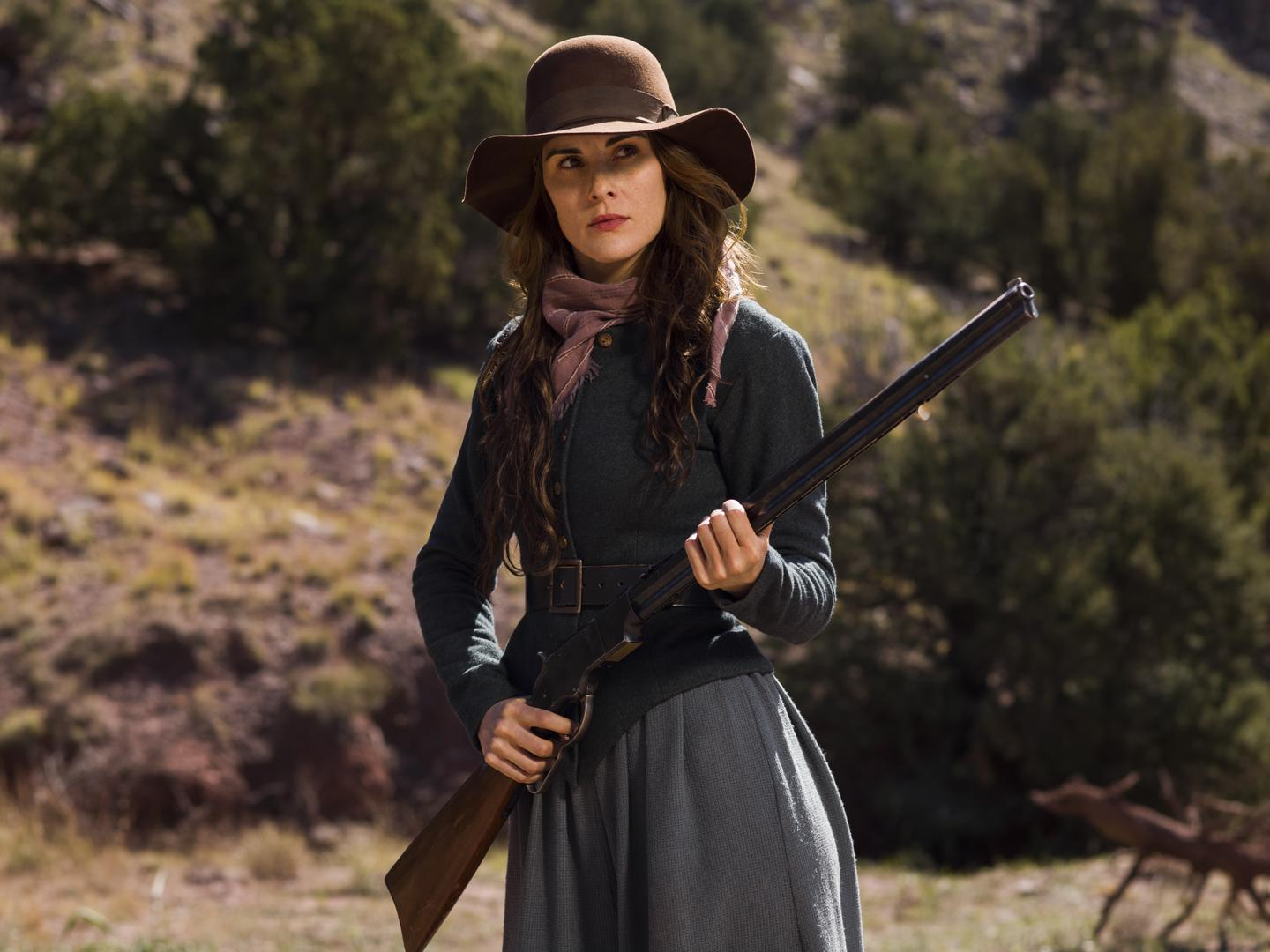 Godless: il character poster di Michelle Dockery