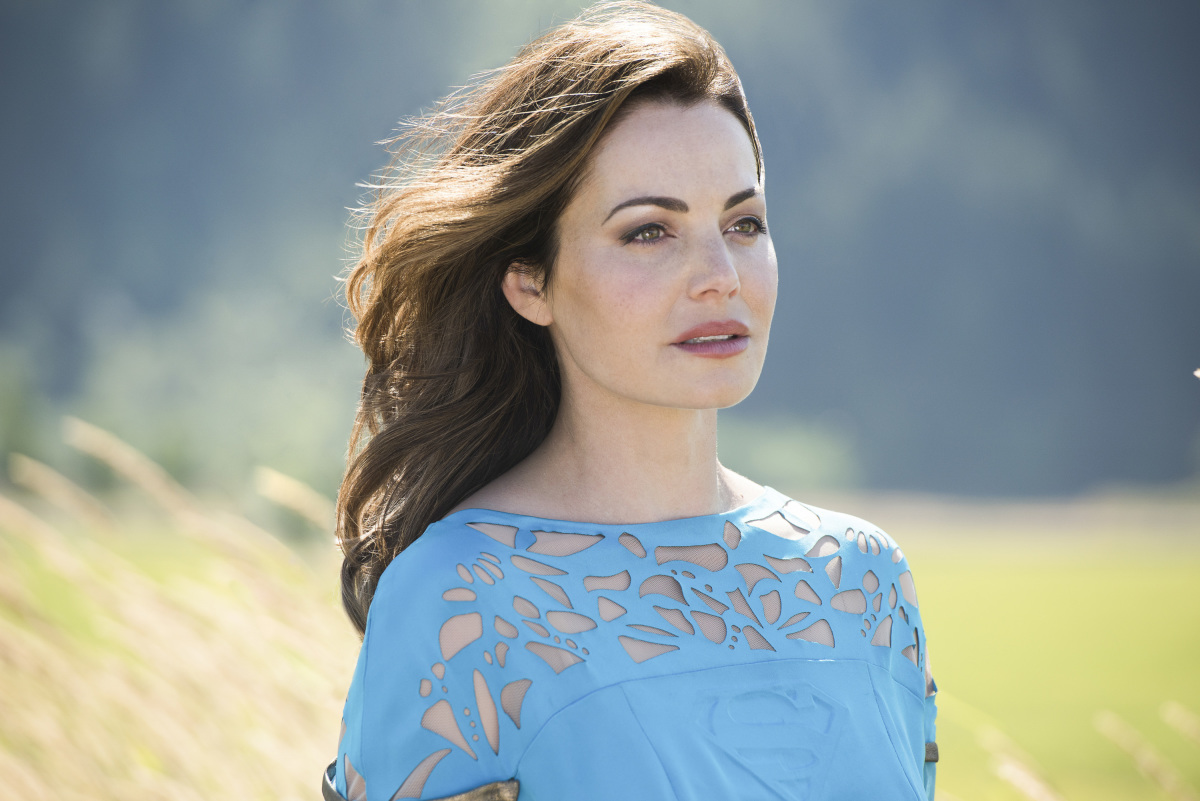Supergirl: l'attrice Erica Durance in Girl of Steel