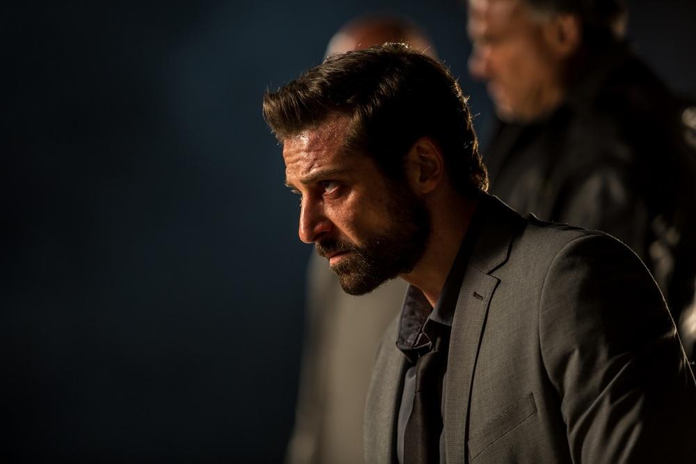 Il contagio: Maurizio Tesei in un'immagine del film