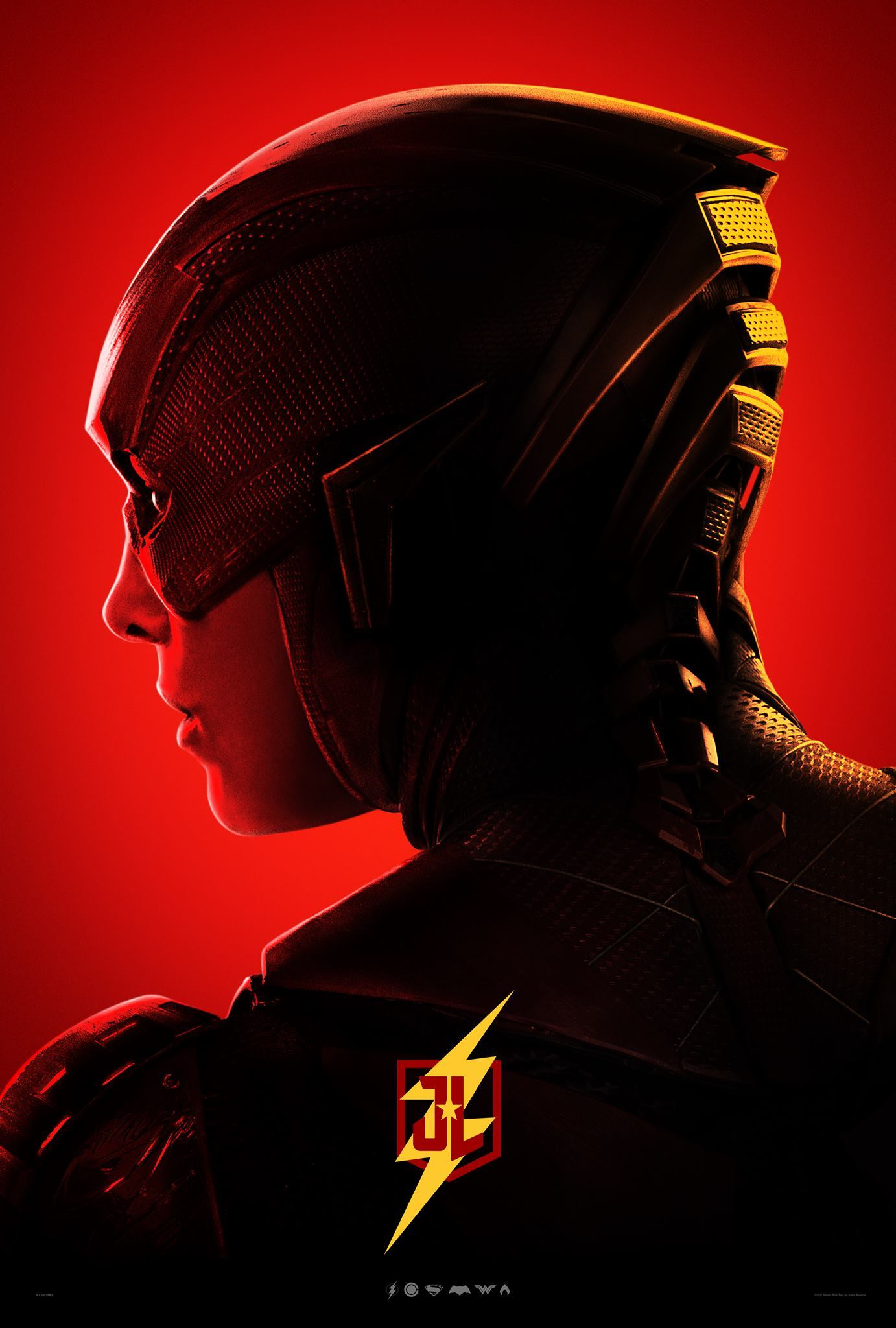 Justice League: il character poster di Flash