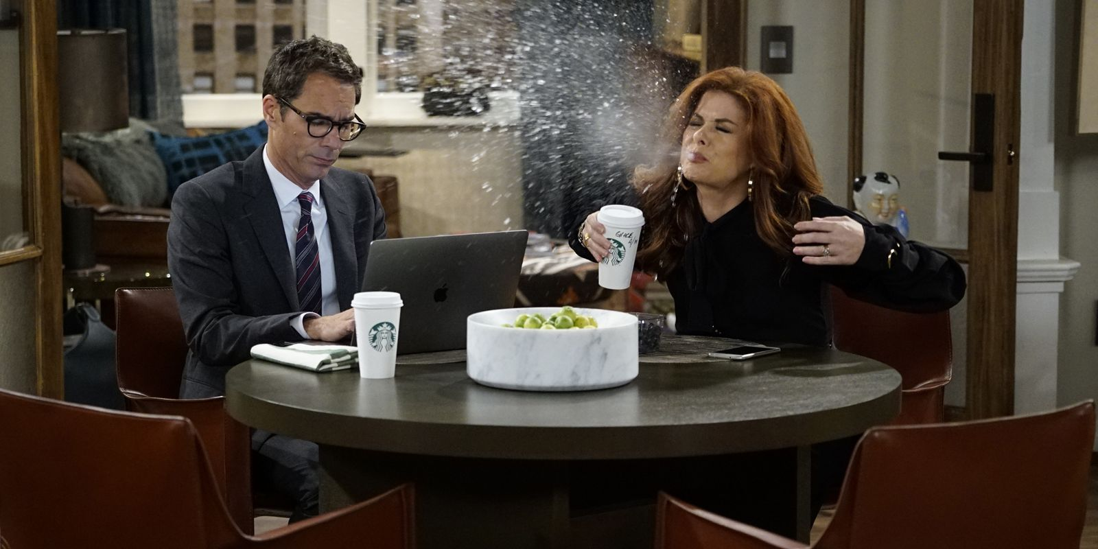 Will & Grace: una foto dei protagonisti in Eleven Years Later