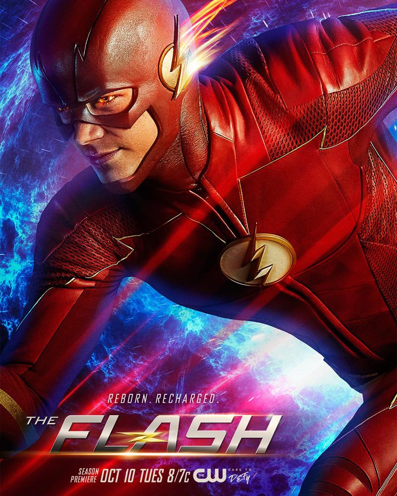 The Flash: un poster della quarta stagione