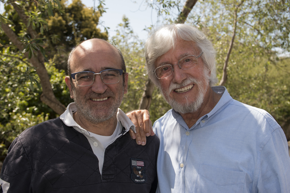 Le meraviglie del mare: i registi Jean-Michel Cousteau e Jean-Jacques Mantello in un'immagine promozionale