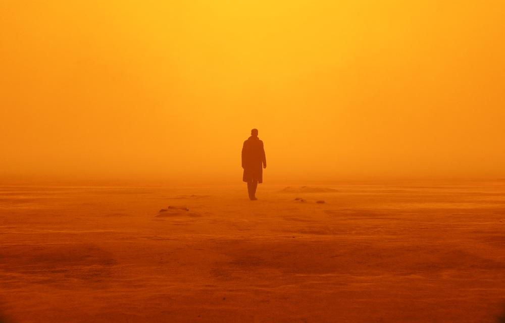 Blade Runner 2049: Ryan Gosling in una suggestiva immagine del film