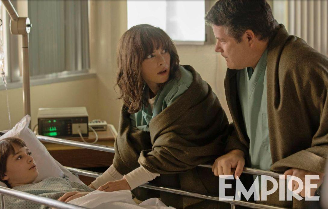 Stranger Things 2: Winona Ryder in ospedale con Sean Astin e Noah Schnapp
