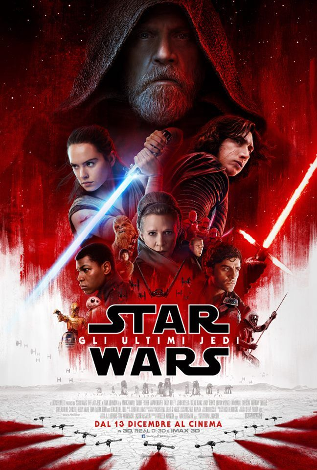 Star Wars: Gli Ultimi Jedi, la nuova locandina italiana