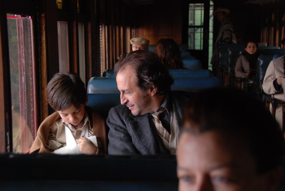 Lezione di pittura: Juan José Susacassa e Daniel Giménez Cacho in un momento del film