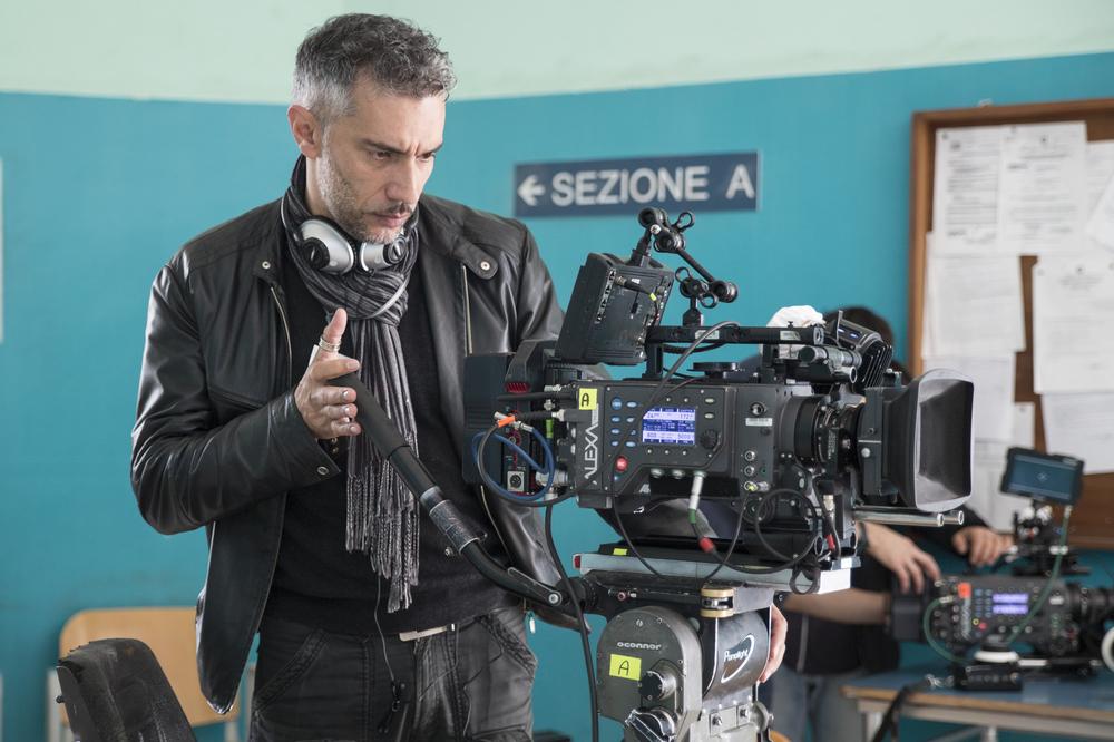 Gramigna: il regista Sebastiano Rizzo sul set