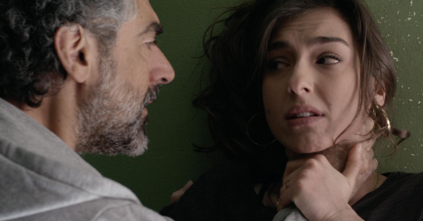Malarazza: Stella Egitto e David Coco in una scena del film