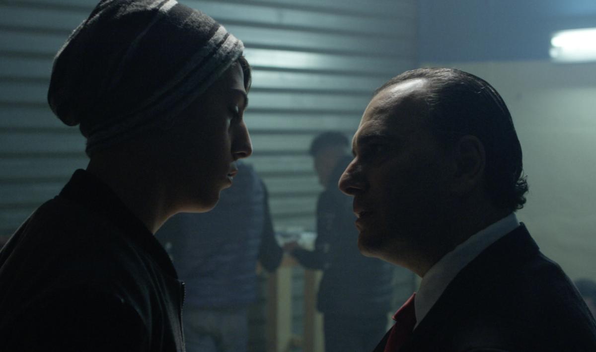 Malarazza: Antonino Frasca Spada e Cosimo Coltraro in una scena del film