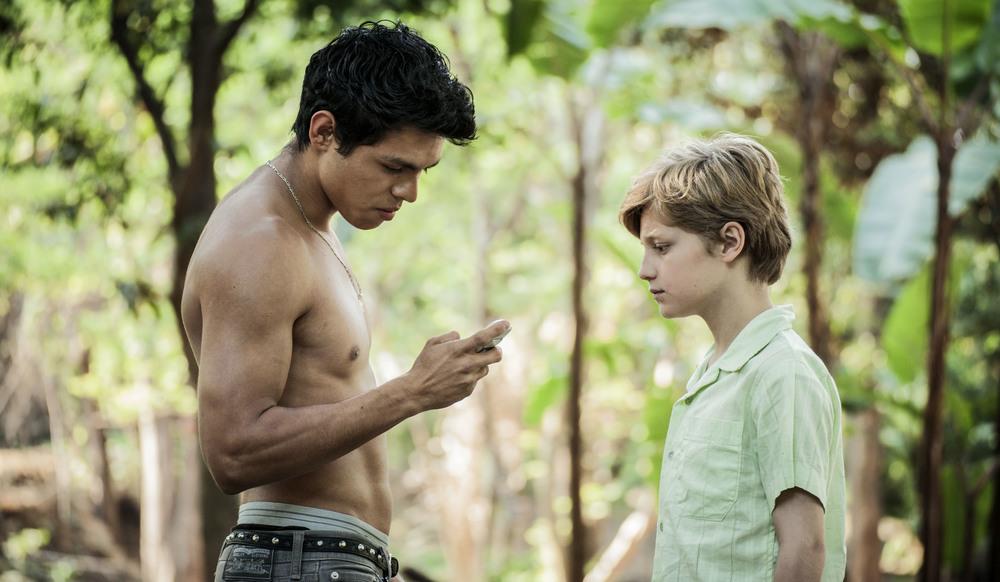 Cuernavaca: Emilio Puente e Diego Álvarez García in un momento del film